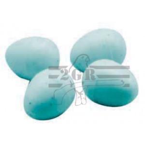 Art.010/C  Podkladové farebné vajcia (náhrada plastová) pre kanáriky