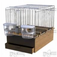 Art.020 Transportná klietka pre spevavé vtáky