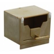 Art.063 - Plastová búdka pre hniezdenie: exoty, zebričky