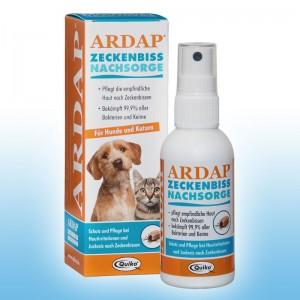 ARDAP Zeckenbiss nachsorg-Sprej na ošetrenie pokožky po uhrznutí klieštom - 75 ml