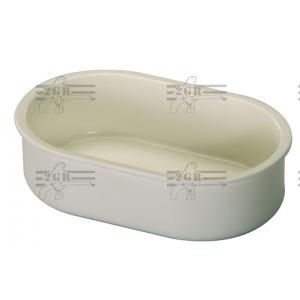 Art.119 Plastové oválne kŕmidlo priesvitné alebo biele