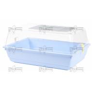 Art.153 Plastový box na dokrmovanie vtákov pre malé a stredné papagáje