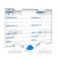 Art.384 karta záznamu chovu pre chovné klietky