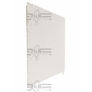 Art.397 Plasová bočná stena pre voliéry 120 a 090 cm- A.400,401,402,403,420,421