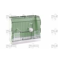 Art.315/FN3V Výstavná plastová klietka zelena