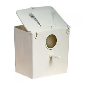 N012 Plastová hniezdna búdka pre exoty a andulky