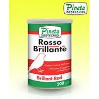 Rosso brilante-Jasne červené farbivo Pineta 200gr