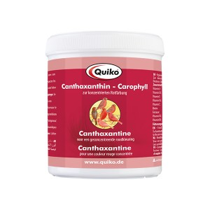 Quiko Canthaxantin + carophyl červené farbivo