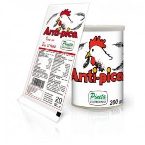 Pineta-Anti-Pica prípravok proti oškĺbavaniu a kanibalizmu vtákov -200gr