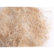 SISAL FIBRE Hniezdny mat. sisal,juta, 1 kg Sisal fibre